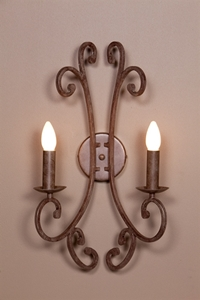 Picture of French Provincial 2 LT Wall Bracket (DO5047/2WB) MDA Lighting