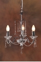 Picture of Chrome Tear Drop 3 LT Pendant (DO5200/P3) MDA Lighting