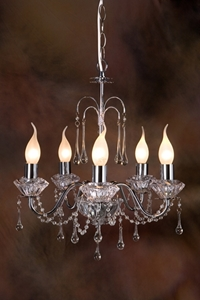 Picture of Chrome Tear Drop 5 LT Pendant (DO5200/P5) MDA Lighting