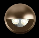 Picture of Round eyelid cover in brass to suit DEKA-BODY (19450) Domus Lighting