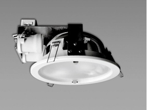 Picture of Byron Low Profile Twin (2x17W) Lamp Fluorescent Downlight (S9627) Sunny Lighting
