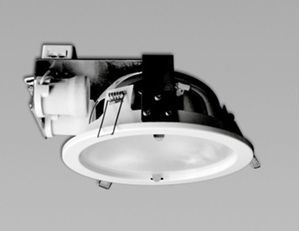 Picture of Byron Low Profile Twin (2x20W) Lamp Fluorescent Downlight (S9628) Sunny Lighting
