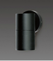 Picture of Bondi Exterior Black Single Fixed Wall Pillar Light - 240V (SE7121/GU10 BK) Sunny Lighting