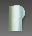 Picture of Bondi Exterior Silver Single Fixed Wall Pillar Light - 240V (SE7121/GU10 SL) Sunny Lighting