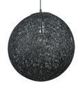 Picture of Hemp Ball Pendant in Black V & M