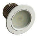 Picture of Shadowline 16W Dimmable Warm White LED Downlight Kit (MLSG3012) Martec