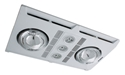 Picture of Profile Plus LED 2 Bathroom Heater In White (MBHP2LW) Martec