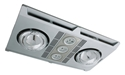Picture of Profile Plus LED 2 Bathroom Heater In Silver (MBHP2LS) Martec