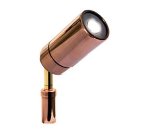 Picture of Astelia Copper LED Single Adjustable Spike Spotlight (LS782LED) Lumascape