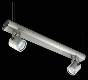 Picture of Barrel 2 Light Wire Suspension Low Voltage Spotlight (LS-3705/2) Domus Lighting