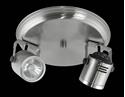Picture of Barrel 2 Light Round Plate Low Voltage Spotlight (LV-3704/2R) Domus Lighting