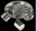 Picture of Barrel 3 Light Round Plate Low Voltage Spotlight (LV-3704/3R) Domus Lighting