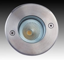 Picture of LED Adjustable Round Exterior Uplighter (F5067-RND-LED) Gentech Lighting