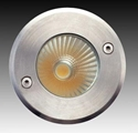 Picture of LED Fixed Round Exterior Uplighter (F5066-RND-LED) Gentech Lighting
