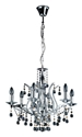 Picture of Mosman 6 Light Crystal Pendnat (H87008-6) Hermosa Lighting