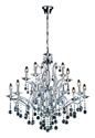 Picture of Mosman 15 Light Crystal Pendnat (H87008-15) Hermosa Lighting