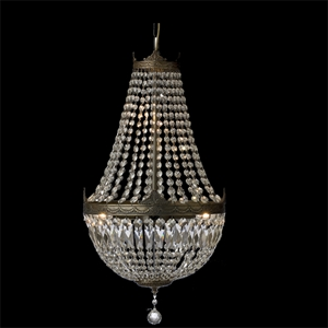Picture of 4 Light Basket Chandelier (O-400) Robert Kitto