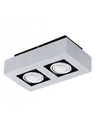 Picture of Loke 1 Surface Mounted 2 Light LED Spotlight (200688) Eglo Lighting