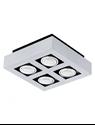 Picture of Loke 1 Surface Mounted 4 Light LED Spotlight (200691) Eglo Lighting