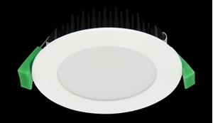 Picture of 10W TEK-10 LED Downlight Round Satin White Trim (20600 20601) Domus Lighting
