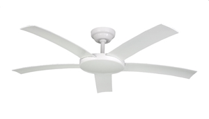"""Picture of Attitude (52"""") AC Fan With Polymer Aerofoil Blades With Wall Switch (A1170 A1171 A1172) Hunter Pacific"""
