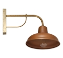 Picture of Bells 240V Solid Copper Exterior Wall Light (S118C) Seaside