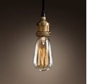 Picture of Brass 1 Light Pendant (Single-1P) Fiorentino Lighting