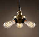 Picture of Brass 3 Light Pendant (Single-3P) Fiorentino Lighting