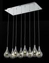 Picture of Grape 8 Light Glass LED Pendant (Grape-8) Fiorentino Lighting