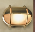 Picture of Freemantle Large Solid Brass Bunker (S2434B) Seaside Lighting