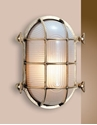 Picture of Shoalhaven Large Solid Brass Bunker (S2034B) Seaside Lighting