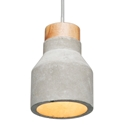 Picture of IMOGEN Concrete Pendant (18674/08) Brilliant Lighting