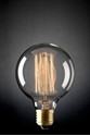 Picture of Carbon Filament G95 Spherical Lamp