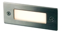 Picture of SLOT 240V Rectangular LED Step Light (UA4301SS) Oriel Lighting