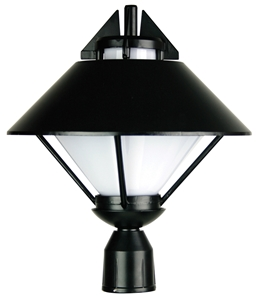 Picture of APOLLO Post Top (OL7876BK) Oriel Lighting