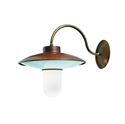 Picture of CALMAGGIORE Exterior Brass Copper Wall Light (235.04.ORB_T) IL Fanale