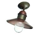 Picture of IL BORGO Exterior Brass Copper Ceiling Light (244.03.ORB_T) IL Fanale