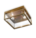 Picture of QUADRO Exterior Brass Ceiling Light (262.03.OT) IL Fanale