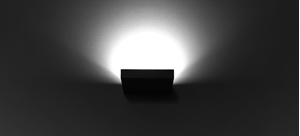 Picture of Horizon 15W Dimmable LED Wall Light M-Elec