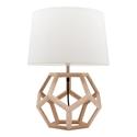 Picture of Peeta Natural Timber Table Lamp (MG4261) Mercator Lighting