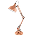 Picture of Borgillio Coppery Table Lamp (94704) Eglo Lighting