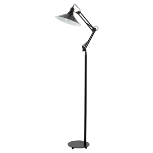 Picture of Chantry Black Floor Lamp (201184) Eglo Lighting