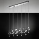 Picture of Pianopoli 10 Light LED Pendant (93663) Eglo Lighting