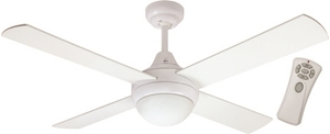 "Picture of Glendale 1200MM (48"") Ceiling Fan with Light and Remote (FC182124R) Mercator Lighting"