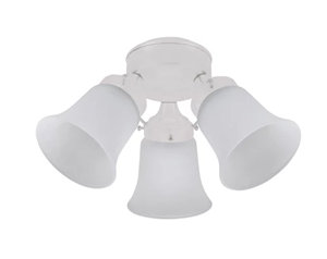Picture of 3 Lights Flush Mounted Fan Lights Hunter Fan