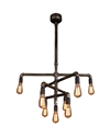 Picture of Foundry 9 Light Pendant (201525) Eglo Lighting