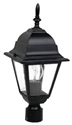 Picture of Cobar Large Post Top (HW21PT) Hermosa Lighting