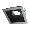 Picture of DSL-101/1S Square Slotter Single Downlight Frame (70001 70002) Domus Lighting