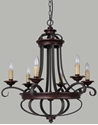 Picture of Columbus 6 Light Pendant (Columbus/PD/6L) Lighting Inspirations