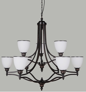 Picture of Arizona 9 Light Pendant (Arizona/PD/9Lt) Lighting Inspirations